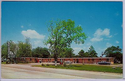 Pascagoula Mississippi Shamrock Tourist Court old roadside postcard MS