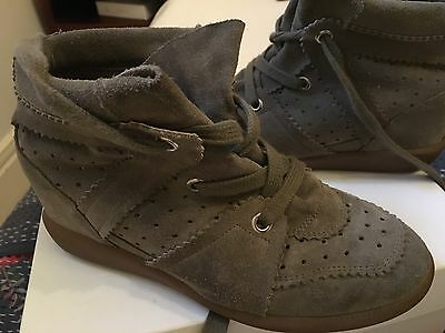 Isabel Marant Bobby Sneakers - TAUPE -  SIZE 39