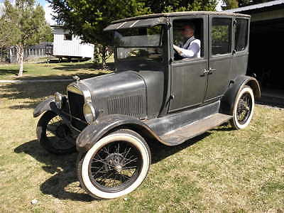 """1926 Ford Model T  1926 Ford Model T Fordor original or """"preservation"""" condition, out of storage"""