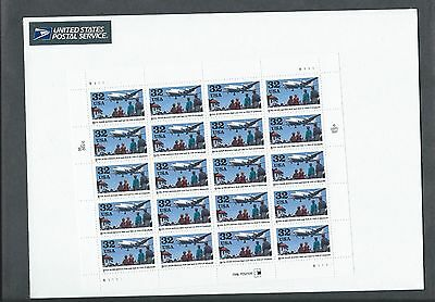 US Postage Stamps 1 Sheet SCOTT  #3211 BERLIN AIRLIFT 32 Cent   MNH
