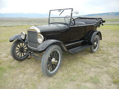 1926 Ford Model T  1926 Ford Model T 4 door touring convertible full set of side curtains