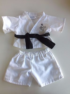 Build a Bear sequined JUDO/KARATE outfit