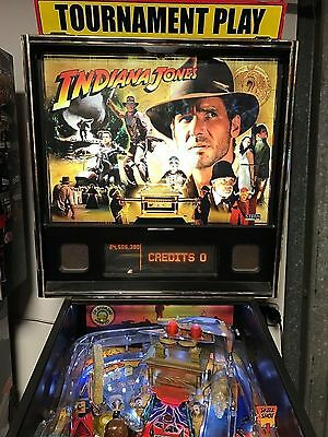 Indiana Jone Stern Pinball Machine With Leds And Comes With Warranty Pinballking