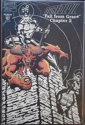 Marvel comic DAREDEVIL #321 -Fall from Grace Chapter 2-