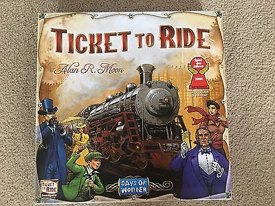 Ticket To Ride Original Edition Family Board Game