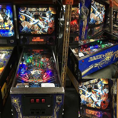Jackbot Pinball Machine Leds Added Pinballking