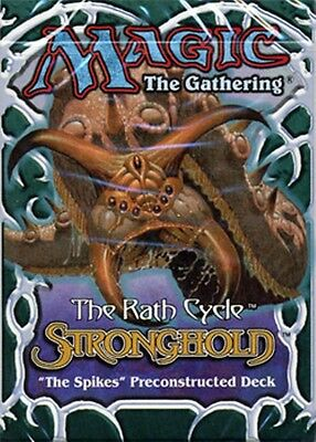 Magic the Gathering MTG - The Spikes Stronghold Precon Deck Pack New & Sealed