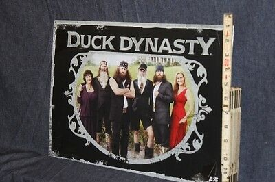Duck Dynasty family metal sign