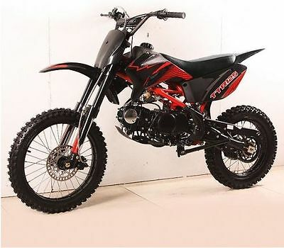 "Apollo AGB37 125cc 14"" 17"" Cross Bike Dirtbike Pitbike Motocross"