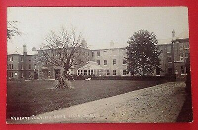 Warwickshire - Leamington Spa, Midland Counties Home for Incurables, RP PC, 1907
