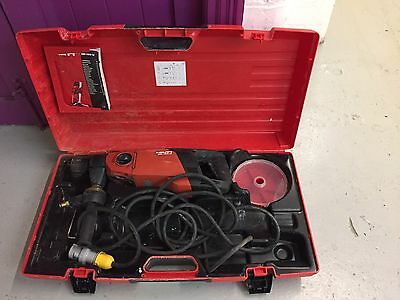 Hilti DD150-u Diamond Core Drill Setup