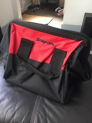 New ~ Snap-On Mini Tools Storage/tote Bag ~ Black & Red