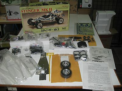 Vintage 1987 Kyosho Stinger Mk-Ii Circuit 1000 Series,fuel Gas Powered,1/10-New