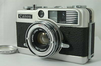 【Exc++++】Canon Demi EE17  W/30mm F/1.7 Lens Half Fram Camera From Japan