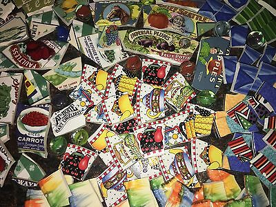 Broken China Mosaic Tiles Vitromaster Mary Engelbreit 1/2 cup Over 200 pieces