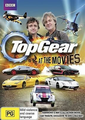 Top Gear: At the Movies DVD BRAND NEW stillSealed Region 4 FREE POSTAGE