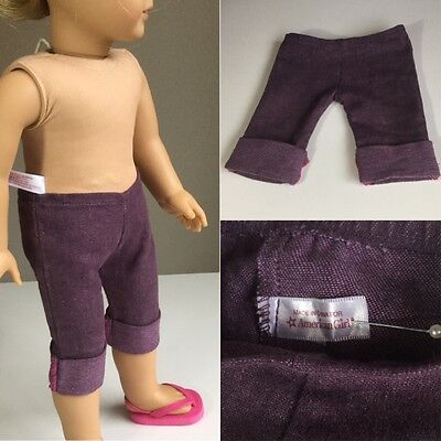 "Authentic American Girl Doll Pants ONLY Fit Our Generation 18"" Doll Clothes."
