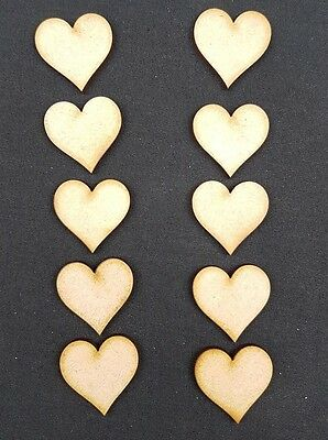 10 x Family Tree extra heart  For 20cm Laser Cut Craft Blank Shape Wedding S237