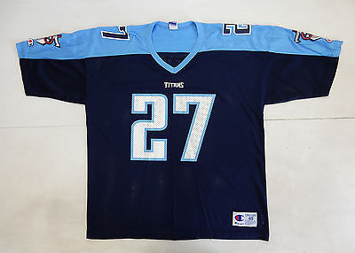 Tennesee Titans George Champion Maglia Shirt Jersey Nfl American Football