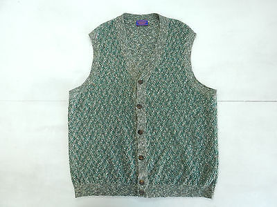 Example By Missoni Vintage Sweater Gilet Lana Cotone