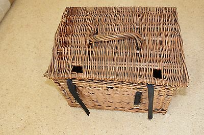 Vintage Wicker Fishing Creel ?  - kreel wicker basket