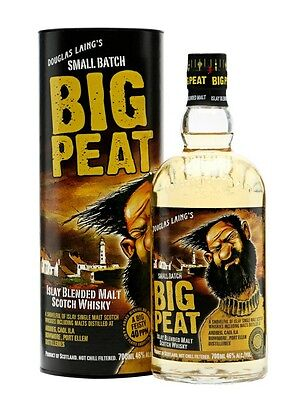 1 BIG PEAT Whisky Islay Blended Malt Scotch Duoglas Laing 70 cl 46% in astuccio