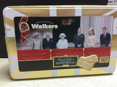 WALKERS SHORTBREAD Limited Edition Tin