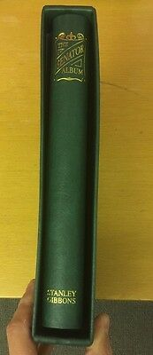 Stanley Gibbons Senator Green Album With Matching Slipcase