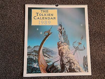 The Tolkien Calendar 1989  -* Lovely