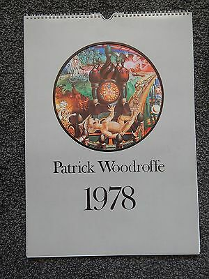 Patrick Woodroffe Calendar 1978 in mailer -* Lovely