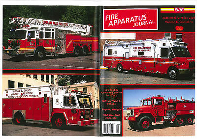 FAJ FIRE APPARATUS JOURNAL,SEPT/OCT 2004, FDNY Comd,Military Rehabs,EUGENE FD,