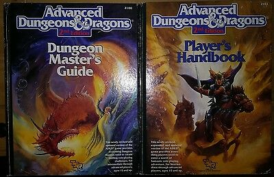 Advanced Dungeons&Dragons 2nd Edition Players Handbook/ Dungeon Masters Guide