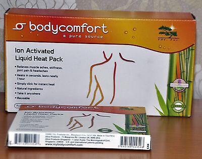 Body Comfort Ion Activated Liquid Heat Pack for Neck & Shoulder and 4 hand packs
