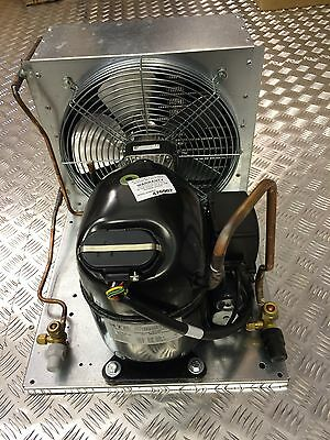 New 3/4Hp Embraco Condensing Unit, Nt6222Gk, R404A, 240V~1Ph, Mhbp, Chiller