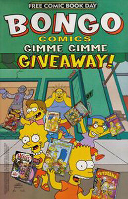 Bongo Comics Gimme Gimme Giveaway ! The Simpsons Free Comic Book Day