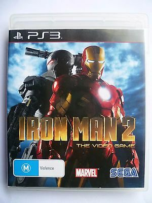 Iron Man 2 (Sony Playstation 3 Game PS3) Aus Seller