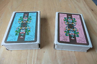 Vintage Roal Mail Lines Playing Cards - 2 Full Decks inc Jokers