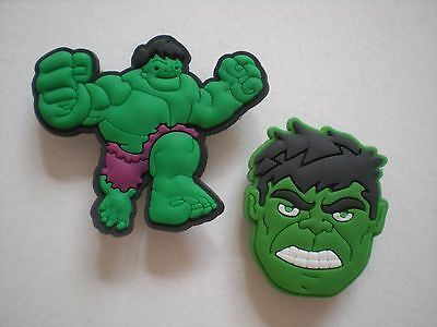 Croc Clog Jibbitz Charm Shoe Plug Button Accessories WristBands Incredible Hulk