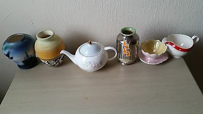 vintage pottery and art
