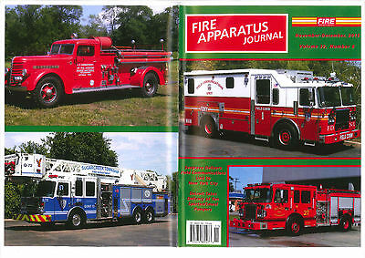 FAJ FIRE APPARATUS JOURNAL,NOV/DEC 2015,FDNY Field Comm,Spartan Pumpers,etc....
