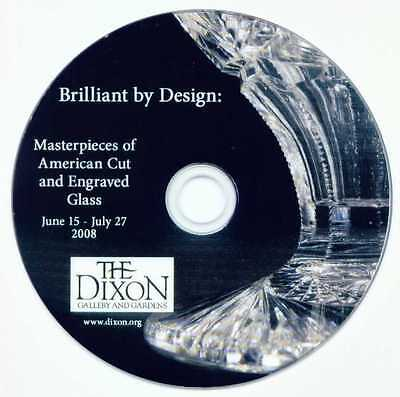 Dixon Gallery American Cut and Engraved Glass DVD:  Brilliant by Design ABCG R4