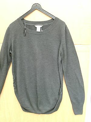 """Maternity jumper S L H&M MAMA long sleeve 44"""" Chest 27"""" Length Cheap Postage"""