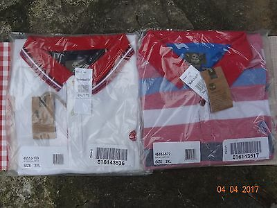2 Polos manches courtes Timberland neufs avec étiquettes taille 3XL