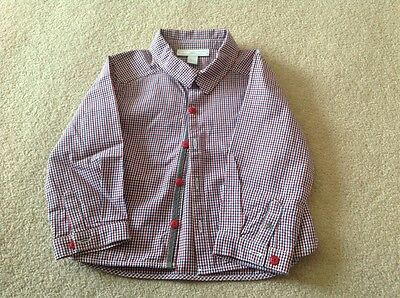 Little White Company Baby Boys Shirt 12-18 Months.