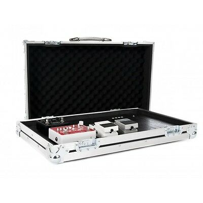 Medium Universal Guitar Effect Pedal Board Flight Case with Removable Lid