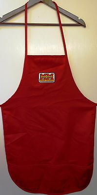 New Minneapolis-Moline Logo #1 Collector's Red Bbq Apron