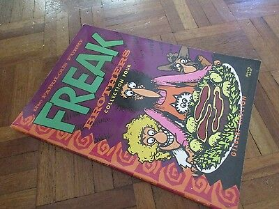 fabulous furry  freak brothers collection volume 4 paperback graphic novel
