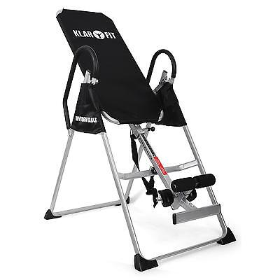 Inversion Table By Klarfit Home Gym Back Therapy Strength Training Equipment