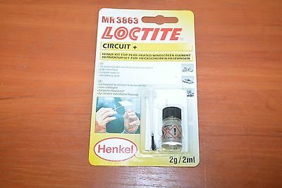 Front Or Rear Car Heated Element Demister Line Brake Repair Kit Paint On Glue