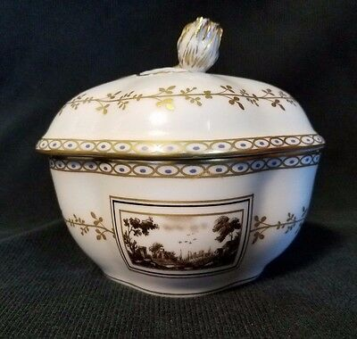"""Vintage Richard Ginori """"Fiesole"""" Lidded Dish-Made in Italy Highly Collectible"""